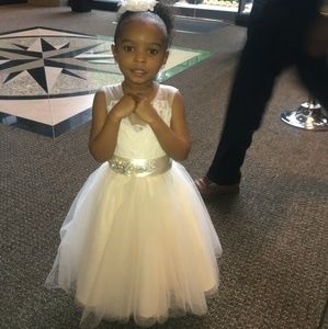 Beautiful little girls dress